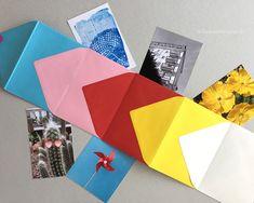 Das sind keine normalen Briefumschläge. Das sind Leporello's für deine Lieblings-Fotos!  Eine einfache DIY-Anleitung mit Video. Den Ver...