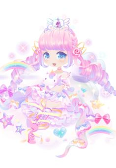 """Rainbow Dream was a Catching Event available from to (First Half from to and Second Half from to with """"Rainbow Fantasy"""" themed rewards. Coco:Rainbow here in Rainbow Town is really pretty. Cartoon Wallpaper Iphone, Kawaii Wallpaper, Cat Character, Character Design, Chibi Unicorn, Blue Diamond Steven Universe, Rainbow Flowers, Rainbow Wallpaper, Cute Anime Chibi"""