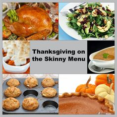 Thanksgiving on the Skinny Menu: All Recipes Included