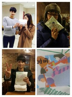 """[ PHOTO ] Japanese Fans of #SungHoon @bbangsh83 #성훈 Sent a big New Year Gift and Snacks to Sung Hoon and #PassionateLove #열애 production team. Credit : Thank you """" TVReport """" Link :..."""
