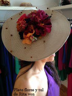 Plato flores y tul de Rita Von #dressing gown #vestido de fiesta # gown…