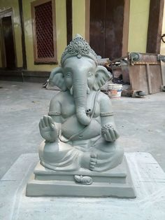 Ganesh Chaturthi Decoration, Ganesh Chaturthi Images, Happy Ganesh Chaturthi, Clay Ganesha, Ganesha Art, Ganesh Lord, Shri Ganesh, Eco Friendly Ganesha, Ganapati Decoration