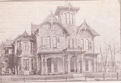 "From the Germantown Courier; Wednesday, April 16th, 2008.  ""This house on the southeast corner of Greene Street and (Walnut) Lane was occupied by Dr. Thomas Moore, a homeopathic physician, in 1881.  Today, it is missing some of the gingerbread decoration."""