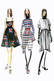Risultati immagini per fashion illustration