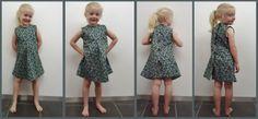 DIY jurkje gemaakt voor mijn grote prinses