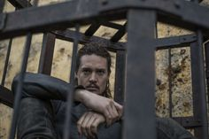"Alexander Dreymon as Uhtred in ""The Last Kingdom"" Season 1 The Last Kingdom Cast, Tobias Santelmann, Uhtred Of Bebbanburg, Alexander Dreymon, David Dawson, Netflix, Kingdom Come, Bbc America, Ragnar"