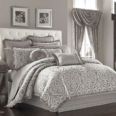 J Queen New York Babylon Bedding By J Queen New York Bedding, Comforters, Comforter Sets, Duvets, Bedspreads, Quilts, Sheets, Pillows: The Home Decorating Company
