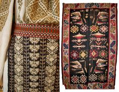 """officialromaniantranslatiuni: """" There is nothing random about the motifs sewn on the Romanian textiles, every stitch is a code. It tells you the story of it's creator. The form and ornaments of the. Star Patterns, Textures Patterns, Contemporary Decorative Art, Nature Symbols, Protection Symbols, Easter Traditions, Connect The Dots, Folk Costume, Costumes"""