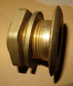"""Have one to sell? Sell it yourself  Details about  Male 1.25"""" bsp Thread Tank Connector Brass washer nut"""
