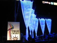Concert Stage Design Ideas stage design american idol stage design american idol Inc Voile Stage Drapes On True Colors Concert Stage By Concerts And