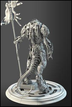 3D mechanical creature