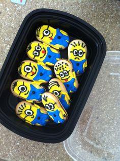 Minion cookie recipe! :))