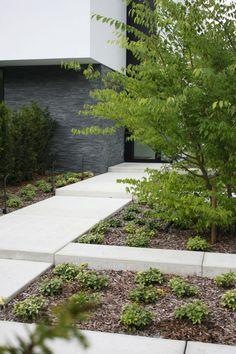 Modern Landscape Design, Modern Garden Design, Contemporary Garden, Garden Landscape Design, Modern Landscaping, Outdoor Landscaping, Landscape Architecture, Garden Types, Garden Paths