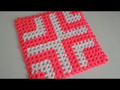 Kare Kolay Lif Yapımı   Örgü Modelleri - YouTube