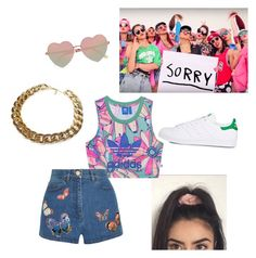"""""""Sorry by Justin Bieber Music video inspired look"""" by ran02 ❤ liked on Polyvore featuring River Island, adidas Originals, Valentino, adidas, JustinBieber, sorry and inspiredclothes"""