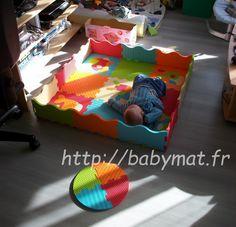 Test du tapis mousse animaux de chez Ludi - Baby'mat, la veille de la puériculture