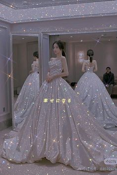 Princess Ball Gowns, Princess Outfits, Pretty Dresses, Beautiful Dresses, Ball Dresses, Prom Dresses, Sparkly Gown, Marriage Dress, Fairytale Dress