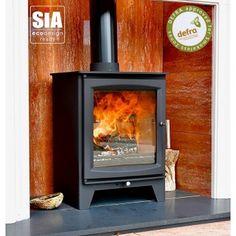 Ecosy+ Hampton 5 XL Defra Approved - 5kw Wood Burning Stove, 7 Year Guarantee, Ecodesign Ready Multi Fuel Stove, Wood Burning, The Hamptons, Home Appliances, Design, House Appliances, Appliances, Woodburning