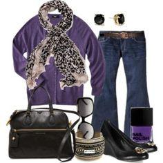 Purple Fall - Plus Size