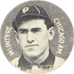 1909-11 Colgan's Chips Stars of the Diamond E254 #NNO Matty McIntyre Front