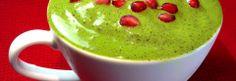 Pomegranate and Banana Green Smoothie