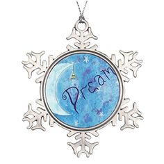 Motivation Ideas For Decorating Christmas Trees Santa Christmas Snowflake Ornaments Inspiration Watercolor Affirmation >>> This is an Amazon Affiliate link. Read more reviews of the product by visiting the link on the image.
