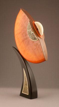 Mandarin Spring by Alan Carter Collectors of Wood Art - Artist Portfolio