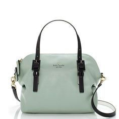 kate spade | waverly street drew - not sure about the contrasting black straps, but i love the color, shape and size of the bag.