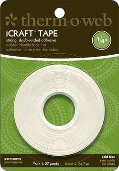 $3.65  iCraft Tape .25x27 Yards