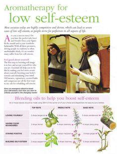 Oils for Boosting Self Esteem