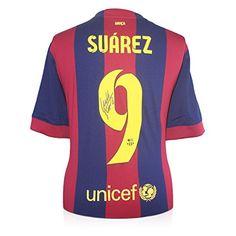 Luis Suárez del Barcelona firmada 2014-15 camiseta de fútbol #regalo #arte #geek #camiseta