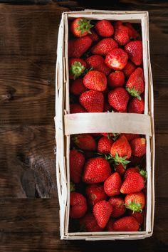 ripe juice strawberries  by Natasha Breen on @creativemarket