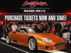 Experience The World's Greatest Collector Car Auction this April in Palm Beach, Florida!   #BarrettJackson #CollectorCar #Auction #PalmBeach #Florida