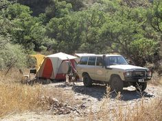 1984 FJ60 Land Cruiser (with new turbo diesel) on safari in the Sierra Madre, Mexico, by ConserVentures, via Flickr