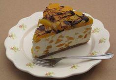 Barackos-mascarponés túrótorta My Recipes, Dessert Recipes, Cheesecake, Pudding, Food, Snacks, Mascarpone, Appetizers, Cheesecakes