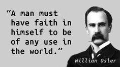 William Osler on Confidence