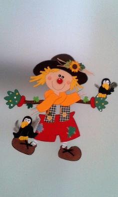 Christmas Crafts For Kids, Simple Christmas, Fall Crafts, Autumn Activities For Kids, Halloween, Baby Quilts, Creative Art, Art Projects, Applique