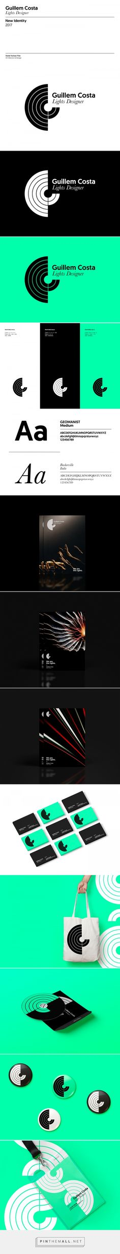 Guillem Costa | Lights Designer Identity on Behance - created via https://pinthemall.net