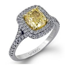 Canary #yellow #engagement #rings are very on trend right now.