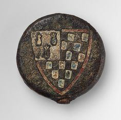Sword pommel with the arms of Pierre de Dreux (ca. 1190–1250), Duke of Brittany and Earl of Richmond [French] (38.60) | Heilbrunn Timeline o...