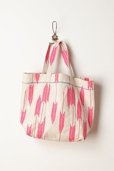 Electric Arrow Tote by Anthropologie