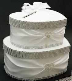 """Купить Свадебная казна""""Сердце"""" - белый, свадьба, свадебные аксессуары, свадебная казна, сундук для денег"""