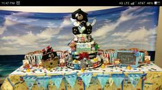 Pirate-themed baby shower
