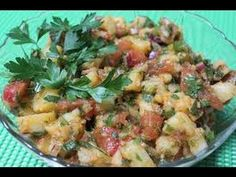 Turkey and Potato Salad - HEALTHY FOOD - DIABETIC FOOD - How To