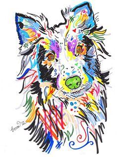 Rebecca Fischer Celebrates Life Via Colorful, Funky Dog Portraits | Dogster
