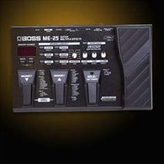 HelloMusic: Boss Pedal ME-25 Multi-Effects http://www.hellomusic.com/items/me-25-multi-effects