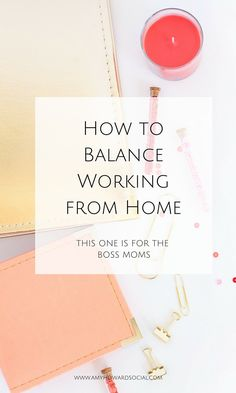Are you a Boss Mom that works from home? If so, take a look at these amazing tips on How to Balance Working from Home from Amy Howard Social!