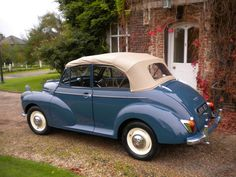 Morris Minor Saw one in A2 Aug 2017