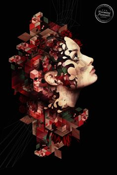 Discover more awesome abstract portraits from Markus Müller at the AP Gallery. http://www.advancedphotoshop.co.uk/image/52457/worming_portraits