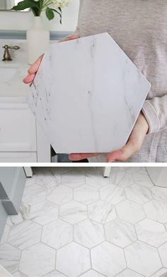 My Favorite Porcelain Marble Tile – Angela Marie Made – Marble Bathroom Dreams Marble Tile Bathroom, Bathroom Floor Tiles, Marble Tile Flooring, Best Bathroom Flooring, Bathroom Tile Designs, Marble Tiles, Upstairs Bathrooms, Master Bathroom, Master Shower Tile